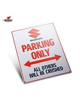 """""""Suzuki Parking Only"""" sign"""