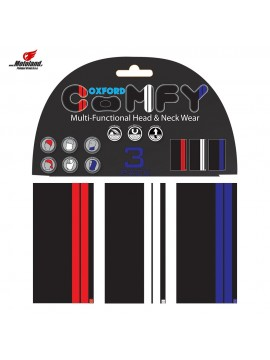 COMFY DOUBLE STRIPE 3-PACK