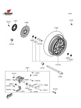 J300 Front Brake Pads