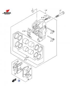 DL 1000 L4-L6 Front Brake Pads