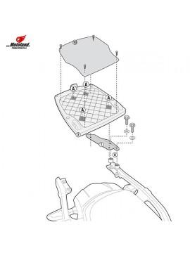 Givi SR4105 Monokey Adaptor Plate - Kawasaki Versys 1000