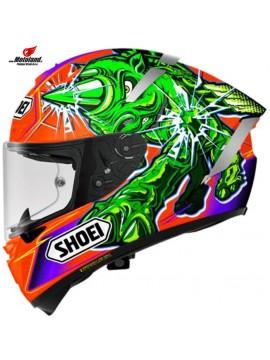 Helmet X-Spirit III Power Rush TC-8