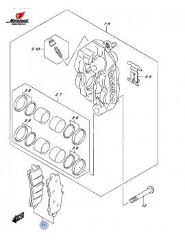 Zavorne Ploščice Spredaj GSX-R 1000 L7-