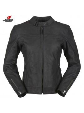 KRISTEN VENTED Leather Jacket