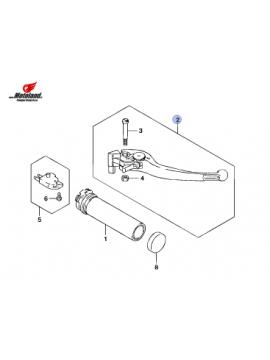 Suzuki Brake Lever ( Polished )