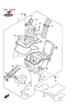 Suzuki Air Filter GSX-R125