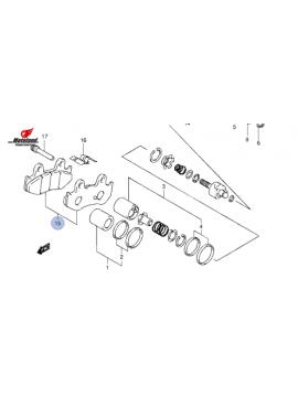 Suzuki Zavorne Ploščice Spredaj