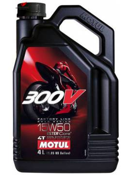 300V 15W50 FACTORY LINE ROAD RACING 4L