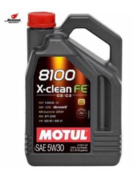 8100 X-CLEAN FE 5W-30 5L