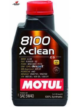 8100 X-CLEAN 5W-40 1L
