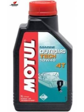 OUTBOARD TECH 4T 10W-40 1L