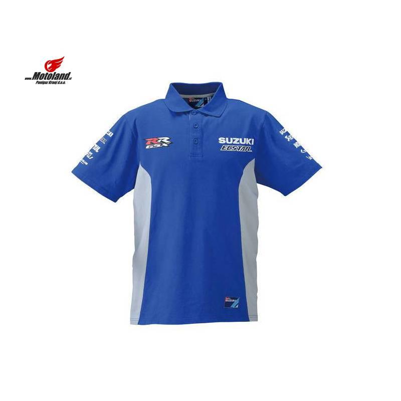 Motogp Team Polo Shirt Color Blue Size M Gender Men Unisex